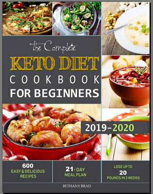 The Complete Keto Diet Cookbook For Beginners – 600 Eb00k/PDF - FAST Delivery