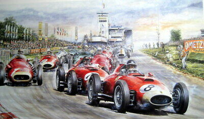 Fangio's Greatest Race Ever - Nürburgring 1957