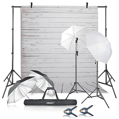 Emart Photography Umbrellas Continuous Lighting Kit