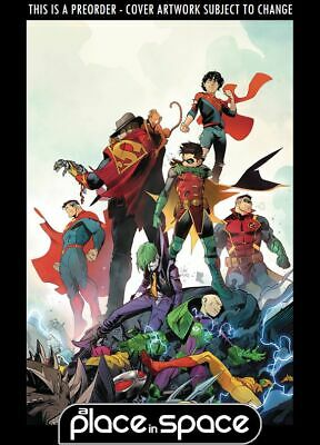 (Wk27) Adventures Of The Super Sons #12 - Preorder 3Rd Jul