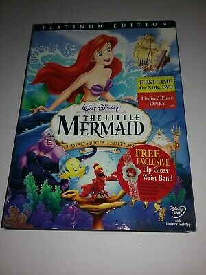 THE LITTLE MERMAID - Special PLATINUM 2 DVD Edition with Slipcover - Walt Disney