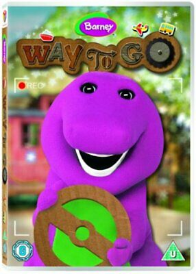 Barney - Way To Go! - Sealed NEW DVD - Barney the Dinosaur