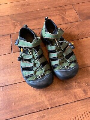 04a2628c3d387 KEEN CAMO BLACK Green Waterproof Sport Sandals Shoes Big Kids Boys 2 ...