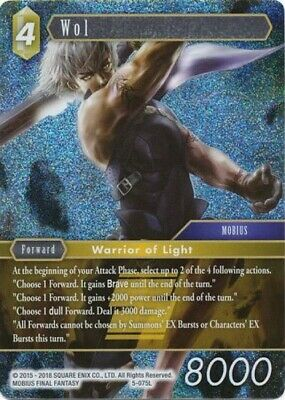 WOL 5-075L FFTCG Final Fantasy TCG Opus 5 Legend FOIL