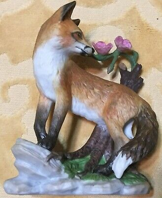 Lenox Early Morning Surprise Red Fox Figurine