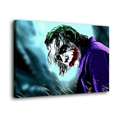 """12""""x18""""Clown jack Painting HD Print on Canvas Home Decor room Wall Art Promotion"""