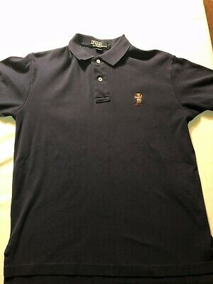 43c4fa299 Vintage Ralph Lauren Polo Rugby Long Sleeve Shirt Size Large Pre Owned Rare  Read.