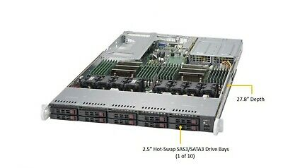SUPERMICRO 1U SERVER Chassis - Chassis and Power Supply ONLY - NO