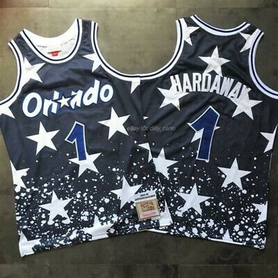 new concept 9dd6b 45bbe PENNY HARDAWAY #1 Orlando Magic 94-95 4th July Limited Edition Throwback  Jersey