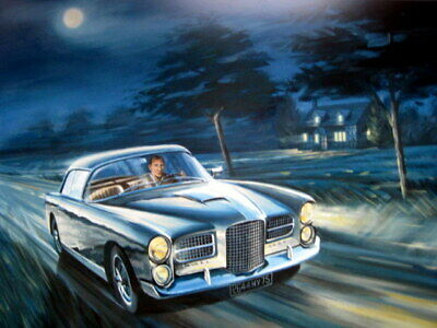 Facel Vega HK500 - Personal Car Of Stirling Moss 1955