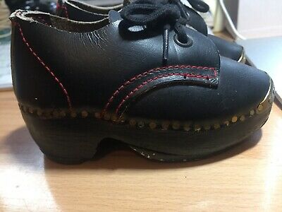 Lancashire Clogs Toddler size (unsized) never worn Walter Hurst of Hindley Wigan