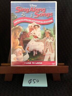 Disney Sing Along Songs Mary Poppins I Love To Laugh DVD! NEW! FREE SHIPPING!
