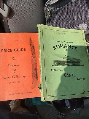 Price Guide To Romance Of Knife Collecting Case Books 1978