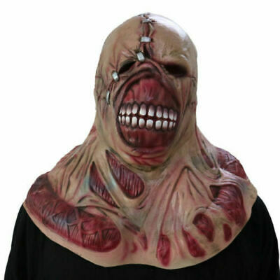 HOT RESIDENT EVIL 3 Nemesis Mask Zombie Game Cosplay Prop Replica