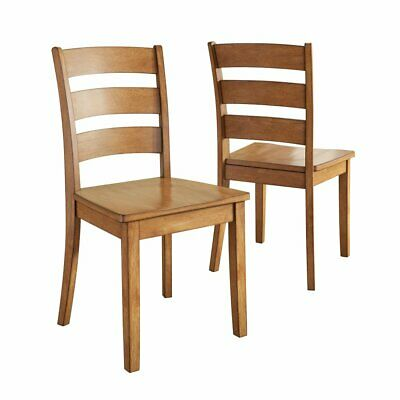 Weston Home Lexington Ladder Back Dining Side Chair - Set of 2