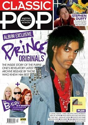 Classic Pop Magazine - Issue 53 - June 2019 - Prince, The B-52S, Stephen Duffy