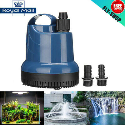 Submersible Water Pump Fish Tank Aquarium Pond Fountain Spout Feature Water Pump