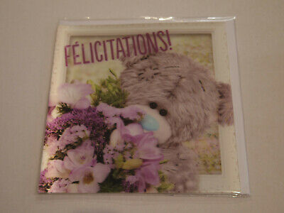 Carte 3D plus Ourson Peluche - Me to you - Félicitations (2)