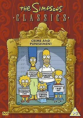 The Simpsons: Crime And Punishment [DVD], , Used; Very Good DVD