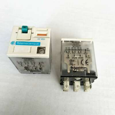 SCHNEIDER ELECTRIC RXM3AB2BD Plug In Relay,11 Pins,Square,24VDC