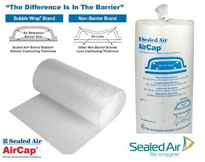 Bubble Wrap Sealed Air Aircap Small or Large Bubble 300 500 or 750mm Wide
