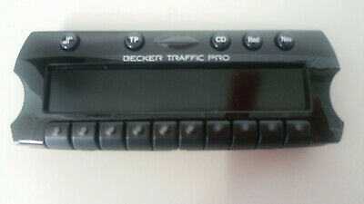 Becker Bedienaufsatz Traffic pro Mobil BE4625 control unit frontplate