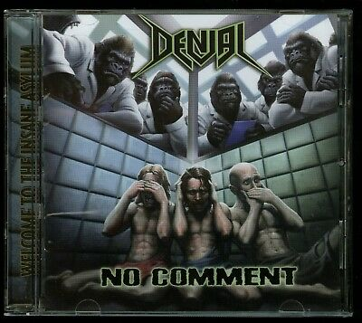 Denial No Comment CD new 1990's Thrash private indie demo Antichrist President