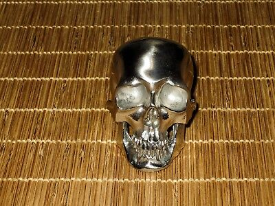Maratac Colossus Skull - Stainless Steel - 9 oz. -HUGE and BEAUTIFUL - NEW