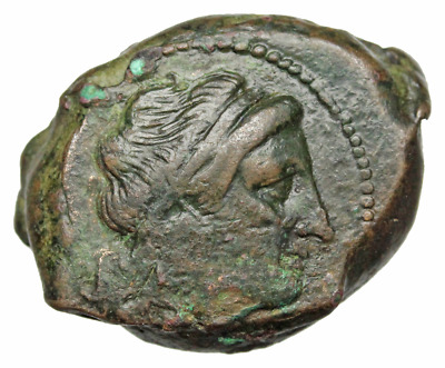 Anonymous. Circa 260 BC. Æ Double Litra, Lion, Scarce