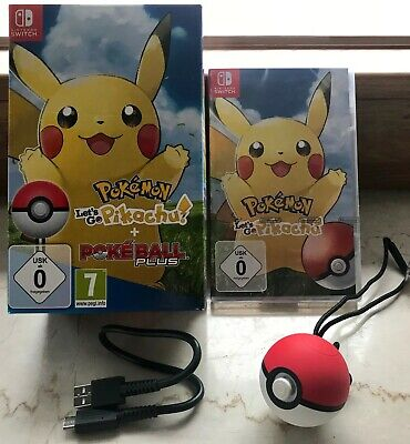 Pokémon: Let's Go, Pikachu + Pokéball Plus (Nintendo Switch) - Neu & OVP!!