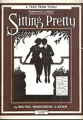 "Assis Pretty Broadway Show Tong "" A Year From Today "" 1924"