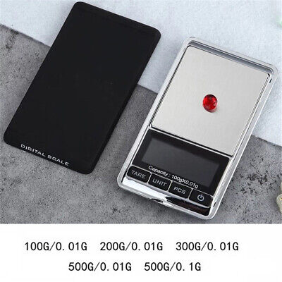 Gold Silver Jewelry Electronic Digital Pocket Scales Weight Balance Weighing