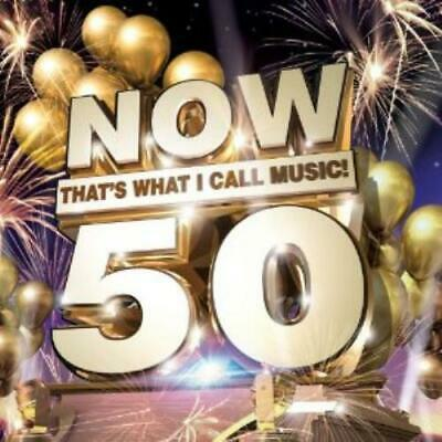 Various Artists : Now 50: Thats What I Call Music (Dlx) CD Fast and FREE P & P