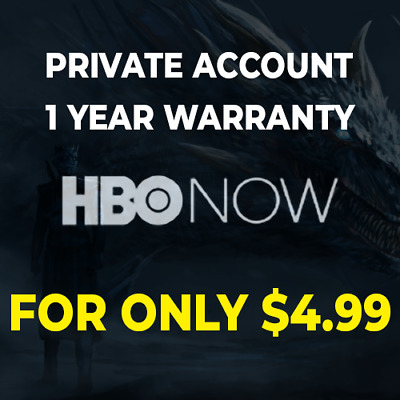 Hbo Premium Account | 1 Year Warranty | Private | Only $4.99
