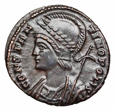 Anonymous City Commemorative. AD 330-354. Æ Follis, CONSTANTINOPLIS