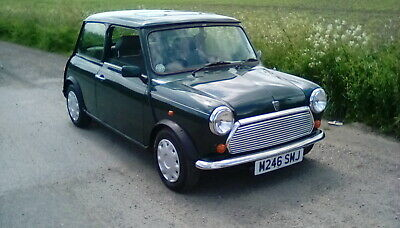 Classic Mini Mayfair 25000 miles automatic leather trim 1995 1 previous owner