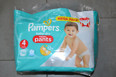 - Jumbo+ Pack 9-15 kg Couches-culottes Taille 4 Pampers x72 culottes Baby Dry Pants