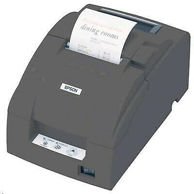 Epson TMU220B Dot Matrix Receipt Printer Auto Cut. Serial. ESC / POS. Epson Dark