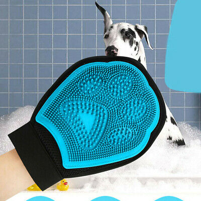 Cleaning Brush Magic Glove Pet Dog Cat Massage Hair Removal Grooming Groomer US