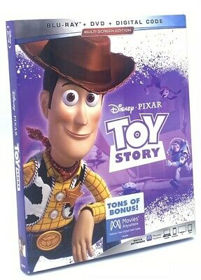 Toy Story  (Blu-ray+DVD+Digital Code, 2019; Multi-Screen Ed.) NEW with Slipcover