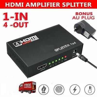 3 IN 1 Out Full HD HDMI Splitter 3 Port Hub Repeater