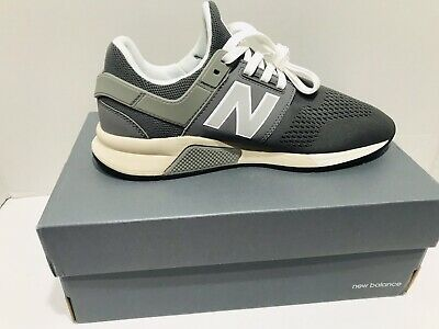 NEW BALANCE MRL 247 Men Casual Lace Up Mesh Trainers In Grey