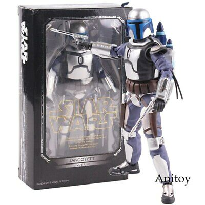 Star Wars Toys Jango Fett Action Figure Decoration Statue Colletible Model Toy