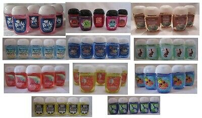 Bath & and Body Works Lot of 5 POCKETBAC ANTI BACTERIAL HAND GEL You Pick Scent