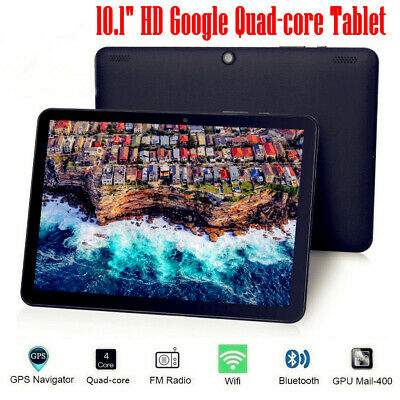 10.1 Inch HD Tablet PC Android 7.0 Quad-core 32GB Google WIFI Dual Camera OTG