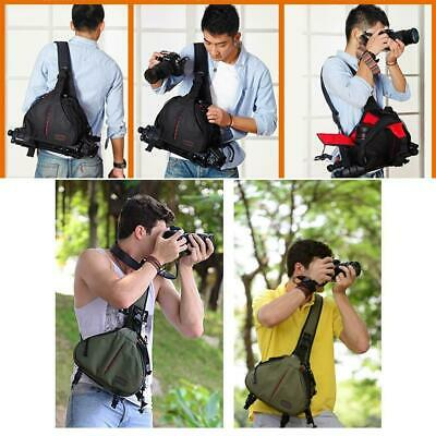 Shoulder Bag Triangle Sling Oblique Cross Holder Bag For Digital Camera DSLR New