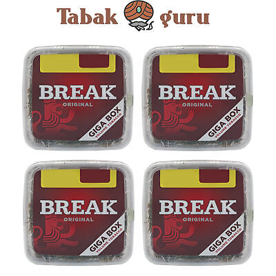 4x Break Original Volumentabak Giga Box 300 g