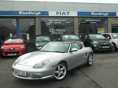 "2004/53 Porsche Boxster 3.2 S Low Miles/Service History/18""Alloys/Leather/Aircon"