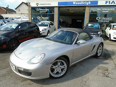 "2005 Porsche Boxster 2.7 Convertible Full Leather/18""Alloys/Service History"
