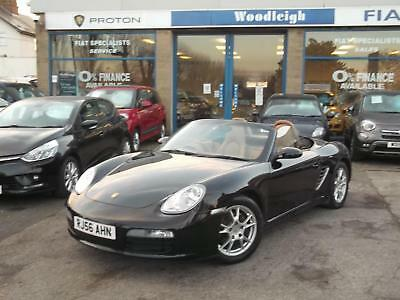 56(2006) Porsche Boxster 2.7 Convertible Fsh Full Cream Leather